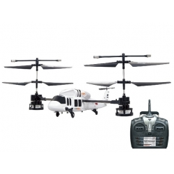 HELICOPTERE RADIOCOMMANDE VOLANT STUNT - CA12 - BLANC - REF AAA13BTT14