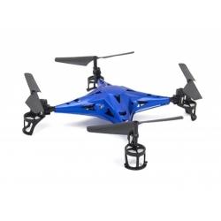 DRONE RADIOCOMMANDE AVEC CAMERA METAL STRUCTURES AVEC WIFI - ART RC-106 - CA6 - 330 x 75 x 330mm - 113g - BLEU - REF JAA9775