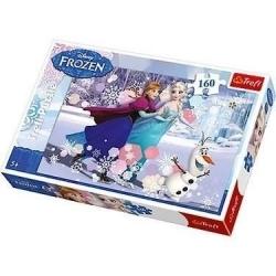 PUZZLE 160 PIECES FROZEN ICE SKATING DISNEY CA12 REF 15317