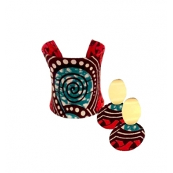 NANAWAX - Bracelet et boucles d'oreilles