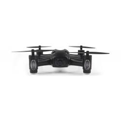 DRONE RADIOCOMMANDE AVEC CAMERA 720P AVEC WIFI - ART RC-111 CA12 - 17,00 x 17,00 x 4,00 cm - 0,220 kg - NOIR - REF JAA9774