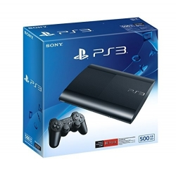 PLAYSTATION 3 - 500 GB - + MANETTE DUALSHOCK 3 - 2 USB - NOIR