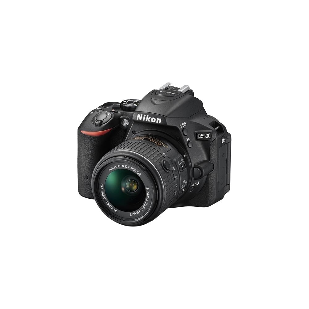 nikon d5500 appareil photo numerique reflex 24 2 megapixels kit objectif af p 18 55 mm vr