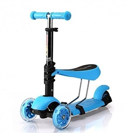 enfant b b scooter 3 roues 3 en 1 25kg max asst art 54094. Black Bedroom Furniture Sets. Home Design Ideas