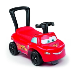 SMOBY VOITURETTE ENFANT CARS ROUGE PORTEUR AUTO CA3 - 54x40x27cm - 1,5 Kg - ROUGE - REF 443013