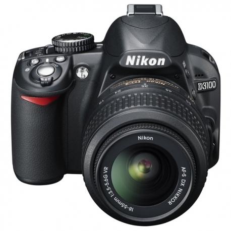 nikon d3100 appareil photo num rique reflex 14 2 m gapixels kit objectif vr 18 55 mm noir