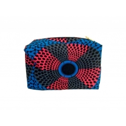 NANAWAX - Trousse de toilette - Bleu à motif