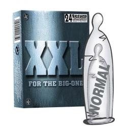 Preservatifs grande taille - XXL par 24 - Secura