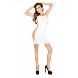 Robe blanche super sexy BS026 - TU