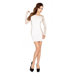 Robe blanche tube sexy - BS025 - TU