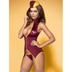 Tenue Hotesse de l'air sexy- Stewardess suit - S-M