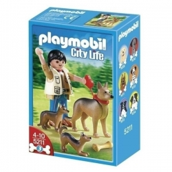 PLAYMOBIL BERGER ALLEMAND CA10 REF 5211