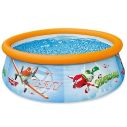 PISCINE GONFLABLE - 183 CM x 51CM - Motif avion