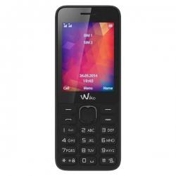 """WIKO Riff 2 Dual SIM - Appareil photo VGA - Lecteur MP3 et radio FM - Écran 2.4"""" QVGA - Bluetooth stéréo - Prise Jack 3.5 mm ."""