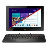 "Thomson THBK1-10.64DB - Intel Atom - 2 Go DDR3 - 64 Go 10.1"" IPS Tactile Wi-Fi/Bluetooth Webcam Windows 8.1/Android 4.2"