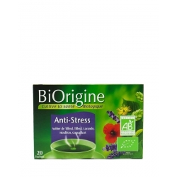 Biorigine Thé à Infusion Anti-Stress