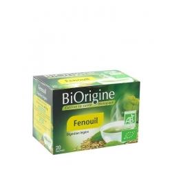 Biorigine Thé à Infusion Fenouil