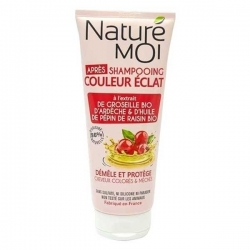 NATURE MOI Après-Shampooing Couleur Eclat 200ML - Rose/Rouge