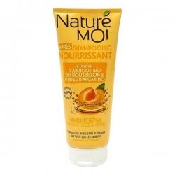 NATURE MOI Après-Shampooing Nourrissant 200ML - Jaune Abricot