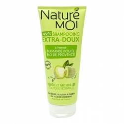 NATURE MOI Après-Shampooing Extra Doux 200ML - Vert Olive