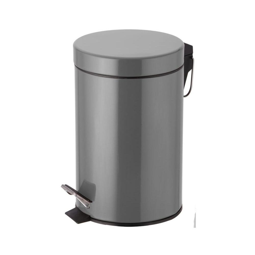 Poubelle metal 50 l poubelle de cuisine r tro en m tal - Poubelle de cuisine 30l ...