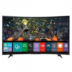 "SMART TECHNOLOGY TV LED ULTRA SLIM INCURVÉE 39"" - 39STT-9040CS - HDMI/USB/VGA - NOIR - DECODEUR + WIFI - GARANTIE 12 MOIS"