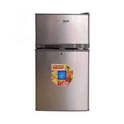 SMART TECHNOLOGY Réfrigerateur STR-100 2 battants - Classe A+ - 105 Litres - Inox -