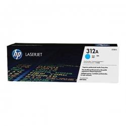 Cartouche de toner cyan authentique HP LaserJet 312 - CF381A