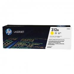 Cartouche de toner Jaune authentique HP LaserJet 312A - CF382A