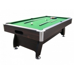 TABLE DE BILLARD 2 CANNES + BOULE +TRANGLE REF KBL 7901G