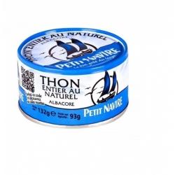 Thon naturel 1/6 132 g Petit Navire