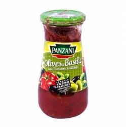PANZANI Sauce olives et basilic aux tomates fraîches 400 g