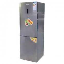 SMART TECHNOLOGY Refrigerateur Combiné - NO FROST - STCB-380 - 318 Litres - Gris - Garantie 12 Mois