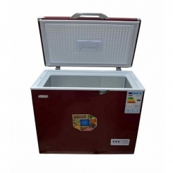CONGELATEUR COFFRE SMART TECHNOLOGY-STCC-300XLR-163 LITRES_ROUGE - 84 x 64.5 x 87 cm