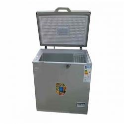 SMART TECHNOLOGY Congélateur Horizontal Bordures Chromées - STCC-400XLG - 337 Litres - Gris