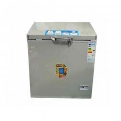 SMART TECHNOLOGY Congélateur Horizontal Avec Bordures Chromées - STCC-350XLG - Avec Clef - 275 Litres - Gris -140 x 65 x 88 cm