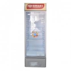 SMART TECHNOLOGY réfrigérateur Vertical Vitré STCDV-625X - Avec clef - 338 Litres - Blanc