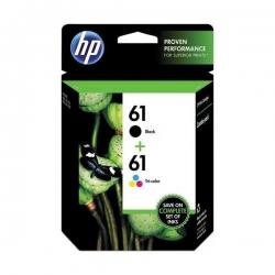 HP 61 Noir et trois couleurs d'origine des cartouches d'encre