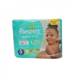 COUCHE BEBE PAMPERS DRY JUNIOR 11-25KG 32PIECES