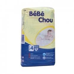 COUCHE BEBE CHOU MAXI 6-18Kg 12PIECES
