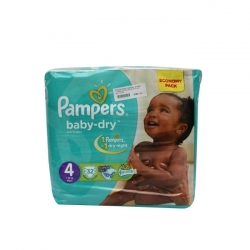 COUCHE BEBE PAMPERS MAXI 7-18KG