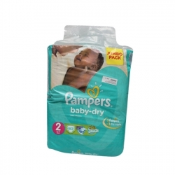 COUCHE BEBE PAMPERS JUMBO PARK 3-6KG 80 PIECES
