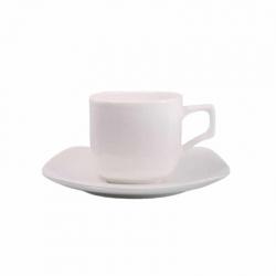 COFFRET DE 2 TASSES ET SOUCOUPES EN PORCELAINE