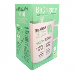 Biorigine Thé à infusion Mon programme Détox - 28 sachets d'infusion