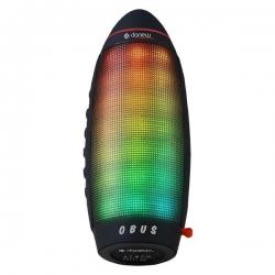 Danew Obus Enceinte Lumineuse portable Bluetooth à LED [noir] - Design original - sans fil