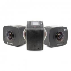 Danew Panview Caméra 360 °- 0,96 pouces LCD - 6 couches de lentilles x 2 - 105 g + Contrôle à distance en Wifi