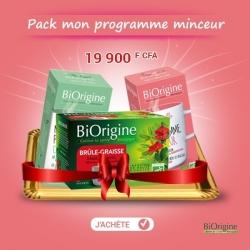 BIORIGINE - Pack MON PROGRAMME MINCEUR