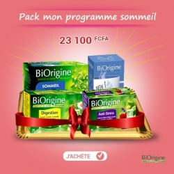 BIORIGINE - Pack MON PROGRAMME SOMMEIL