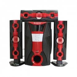 DJACK DJ-Q3 - Sub Woofer - 3.1 Ch Bluetooth - Rouge