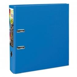 Lot De 5 Classeurs Plastique-sans Perforations-Standard-Dos 8-Bleu Foncé